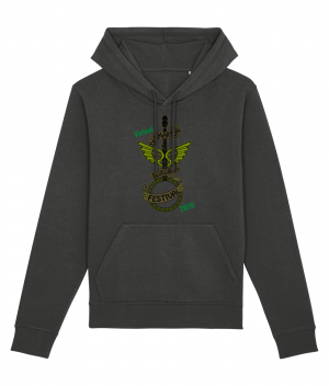 Dark Heather grey Didmarton Virtual Bluegrass 2020 Hoodie